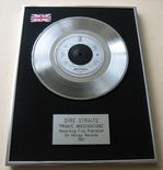 DIRE STRAITS - PRIVATE INVESTIGATIONS PLATINUM Single Presentation DISC